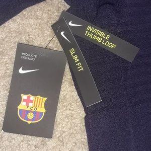 Nike Other - Nike Barcelona 1/4 zip training top & pants